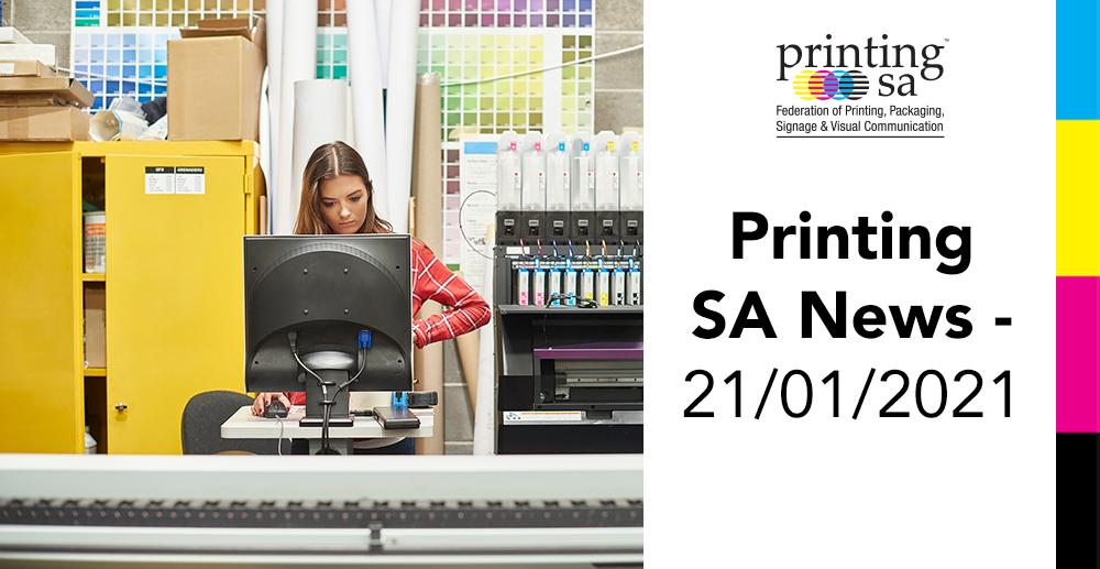 Printing SA News - 21/01/2021